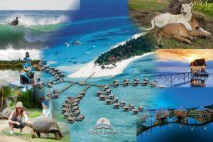 Daleke destinacije - izaberite svoju daleku destinaciju za odmor iz snova: Maldivi, Sejšeli, Mauricijus, Zanzibar, Bali, Tajland, Vijetnam, Kuba, Dominikana, Barbados, Aruba, Madagaskar, Cabo Verde, Havaji