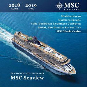 MSC - najveći izbor krstarenja na jednom mestu